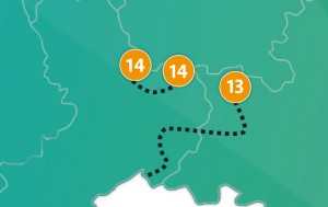 etappe 14 - Scheidingsplanner Almelo | Deventer | Nijverdal
