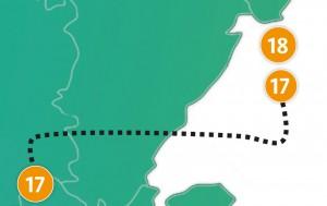 etappe 18 - Scheidingsplanner Almelo | Deventer | Nijverdal