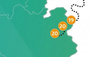 etappe 20 - Scheidingsplanner Almelo | Deventer | Nijverdal