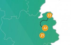 etappe 22 - Scheidingsplanner Almelo | Deventer | Nijverdal