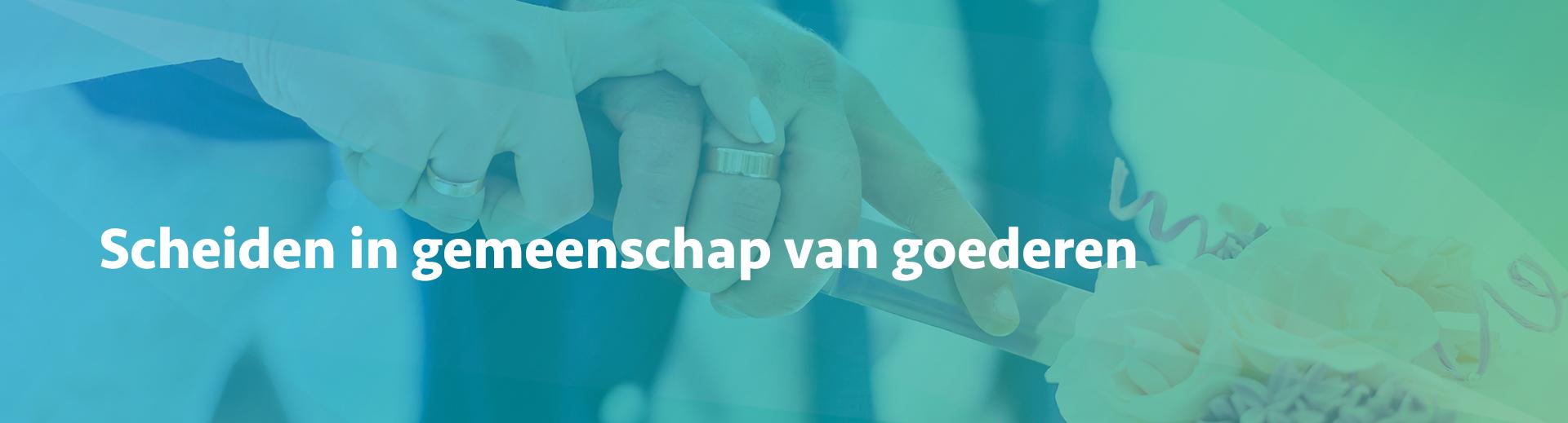 scheiden in gemeenschap van goederen - Scheidingsplanner Almelo - Deventer - Nijverdal
